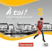 Cover-Bild zu À toi! 3. Unterrichtsvorbereitung à la carte