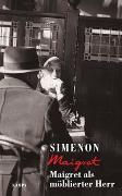 Cover-Bild zu Maigret als möblierter Herr von Simenon, Georges