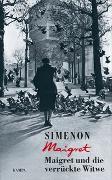 Cover-Bild zu Maigret und die verrückte Witwe von Simenon, Georges