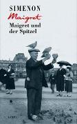 Cover-Bild zu Maigret und der Spitzel von Simenon, Georges