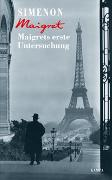 Cover-Bild zu Maigrets erste Untersuchung von Simenon, Georges
