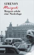 Cover-Bild zu Maigret erlebt eine Niederlage von Simenon, Georges
