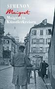 Cover-Bild zu Maigret in Künstlerkreisen von Simenon, Georges