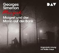 Cover-Bild zu Maigret und der Mann auf der Bank von Simenon, Georges