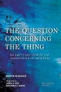 Cover-Bild zu The Question Concerning the Thing (eBook) von Heidegger, Martin