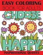 Cover-Bild zu Easy Coloring Book for Adults von Creative Coloring Press