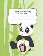 Cover-Bild zu Japanese Writing Practice Book Genkouyoushi Paper: Kanji Notebook a Workbook to Write Kanji, Kana, Katakana or Hiragana with Cute Panda Design von Journal Press, Creative Sh