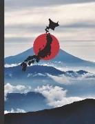 Cover-Bild zu Genkouyoushi - Kanji Practice Notebook: Japanese Writing Paper Workbook to Write Kanji, Kana, Katakana or Hiragana von Journal Press, Creative Sh