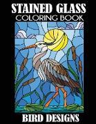 Cover-Bild zu Stained Glass Coloring Book von Creative Coloring Press