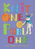 Cover-Bild zu Halstead, Zoe: Knit One, Purl One: The Complete Knitting Kit [With Yarn, Knitting Needles, Stuffing]