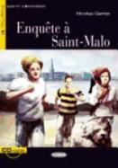 Cover-Bild zu Gerrier, Nicolas: Enquete a Saint-Malo+cd
