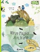 Cover-Bild zu Warum Pinguine nicht frieren: Außergewöhnliche Lebenskünstler in der Natur von Hanácková, Pavla