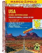 Cover-Bild zu USA, Alaska, Südliches Kanada. 1:4'000'000 / 1:800'000