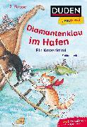 Cover-Bild zu Lenk, Fabian: Duden Leseprofi - Diamantenklau im Hafen, 2. Klasse