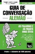 Cover-Bild zu Guia de Conversação Português-Alemão e dicionário conciso 1500 palavras von Taranov, Andrey