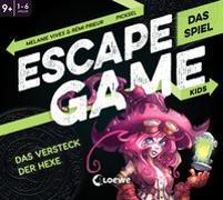 Cover-Bild zu Escape Game Kids - Das Spiel - Das Versteck der Hexe von Prieur, Rémi
