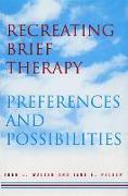Cover-Bild zu Recreating Brief Therapy: Preferences and Possibilities von Peller, Jane E.