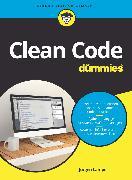 Cover-Bild zu Clean Code für Dummies (eBook) von Lampe, Jürgen