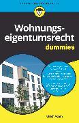 Cover-Bild zu Wohnungseigentumsrecht für Dummies (eBook) von Adam, Ulrich