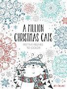 Cover-Bild zu A Million Christmas Cats, Volume 8: Festive Felines to Color von Bigwood, John