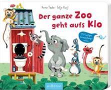 Cover-Bild zu Der ganze Zoo geht aufs Klo von Taube, Anna