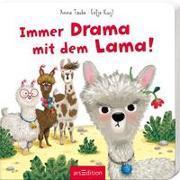 Cover-Bild zu Immer Drama mit dem Lama von Taube, Anna