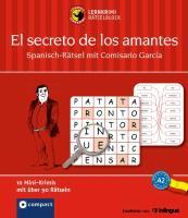 Cover-Bild zu Lernkrimi-Rätselblock: Spanisch-Rätsel mit Comisario Garcia