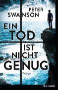 Cover-Bild zu Ein Tod ist nicht genug (eBook) von Swanson, Peter