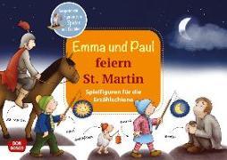 Cover-Bild zu Emma und Paul feiern St. Martin. Spielfiguren für die Erzählschiene von Lehner, Monika