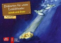 Cover-Bild zu Jakob und Esau. Kamishibai Bildkartenset von Scherzer, Gabi
