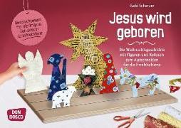 Cover-Bild zu Jesus wird geboren von Scherzer, Gabi