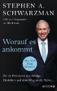 Cover-Bild zu Schwarzman, Stephen: Worauf es ankommt (eBook)