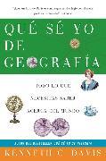 Cover-Bild zu Que Se Yo de Geografia von Davis, Kenneth C.