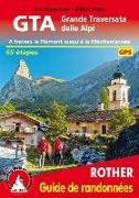 Cover-Bild zu GTA Grande Traversata delle Alpi (französische Ausgabe) von Kürschner, Iris