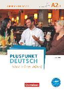 Cover-Bild zu Pluspunkt Deutsch - Leben in Deutschland, Allgemeine Ausgabe, A2: Teilband 1, Kursbuch mit Video-DVD von Jin, Friederike