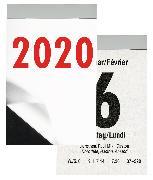 Cover-Bild zu Biella Abreisskalender 2020 Block 3 hoch