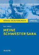Cover-Bild zu Meine Schwester Sara. Königs Erläuterungen (eBook) von Hasenbach, Sabine