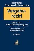 Cover-Bild zu Burgi, Martin (Hrsg.): Beck'scher Vergaberechtskommentar Band 1