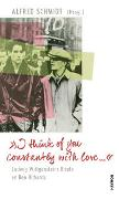 "Cover-Bild zu ""I think of you constantly with love ?"" von Wittgenstein, Ludwig"