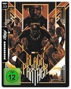 Cover-Bild zu Black Panther - 4K UHD Mondo Steelbook Edition von Coogler, Ryan (Reg.)