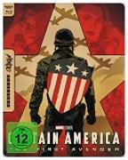 Cover-Bild zu Captain America - The First Avenger - 4K UHD Mondo Steelbook Edition von Johnston, Joe (Reg.)