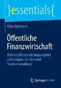 Cover-Bild zu Öffentliche Finanzwirtschaft von Spremann, Klaus