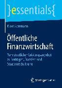 Cover-Bild zu Öffentliche Finanzwirtschaft (eBook) von Spremann, Klaus