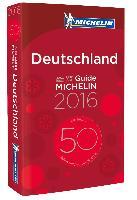 Cover-Bild zu Michelin Deutschland 2016