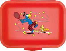 Cover-Bild zu Globi Lunchbox Tennis rot