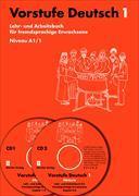 Cover-Bild zu Vorstufe Deutsch 1, A1.1 inkl. 2 Audio-CDs von Büchler-Dreszig, Susanne