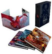 Cover-Bild zu Wizards Rpg Team: Dungeons & Dragons Core Rulebooks Gift Set (Special Foil Covers Edition with Slipcase, Player's Handbook, Dungeon Master's Guide, Monster Manual, DM S