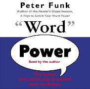 Cover-Bild zu Word Power von Funk, Peter