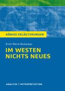 Cover-Bild zu Erich Maria Remarque: Im Westen nichts Neues von Keiser, Wolfhard (Bearb.)