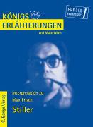 Cover-Bild zu Max Frisch: Stiller von Rothenbühler, Daniel (Bearb.)
